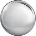 Dekokugel Lore Silberfarben - Silberfarben, MODERN, Metall (20  cm) - Mömax modern living