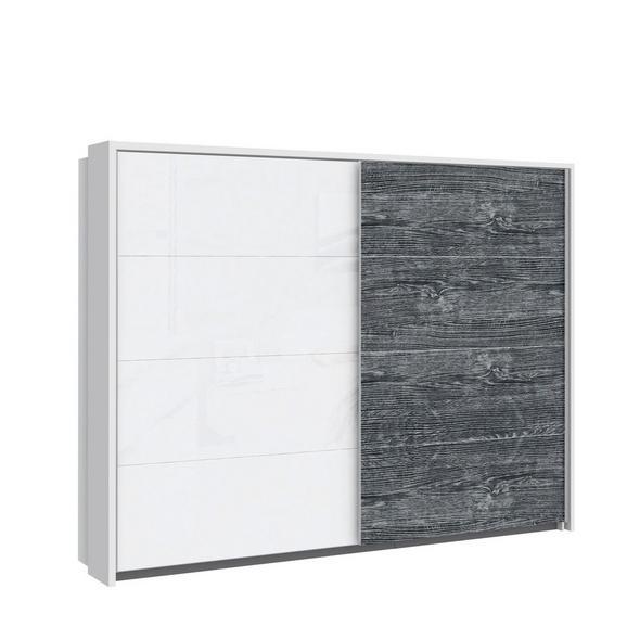 Paspartu Lissabon - bela, Konvencionalno, kovina/umetna masa (231/215,1/24cm) - Modern Living