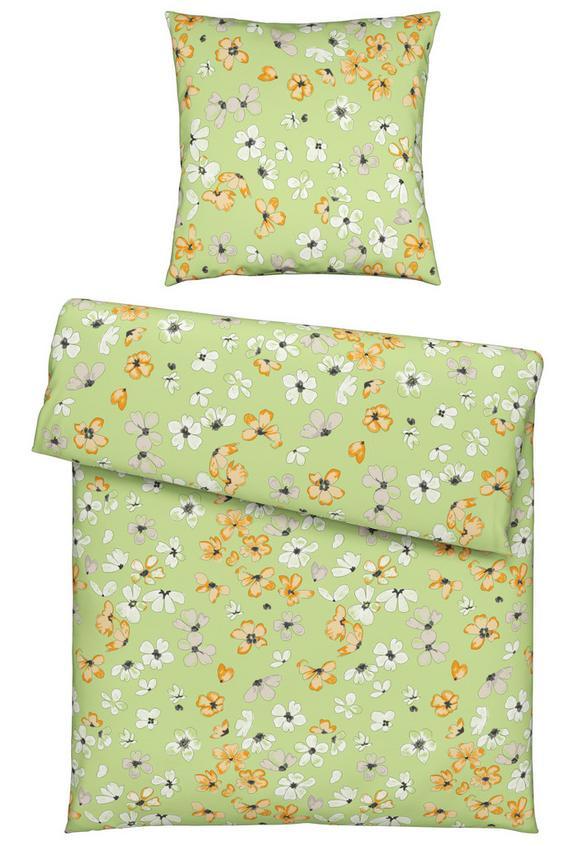 Bettwäsche Lydia in Bunt, ca. 135x200cm - Grün, KONVENTIONELL, Textil (135/200cm) - Mömax modern living