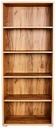 Pisarniški Regal Profi - hrast/krom, Moderno, umetna masa/leseni material (75/185/35cm) - Mömax modern living