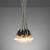 Pendelleuchte Padua 10-flammig - Grau, MODERN, Kunststoff (22/22/147cm) - Mömax modern living
