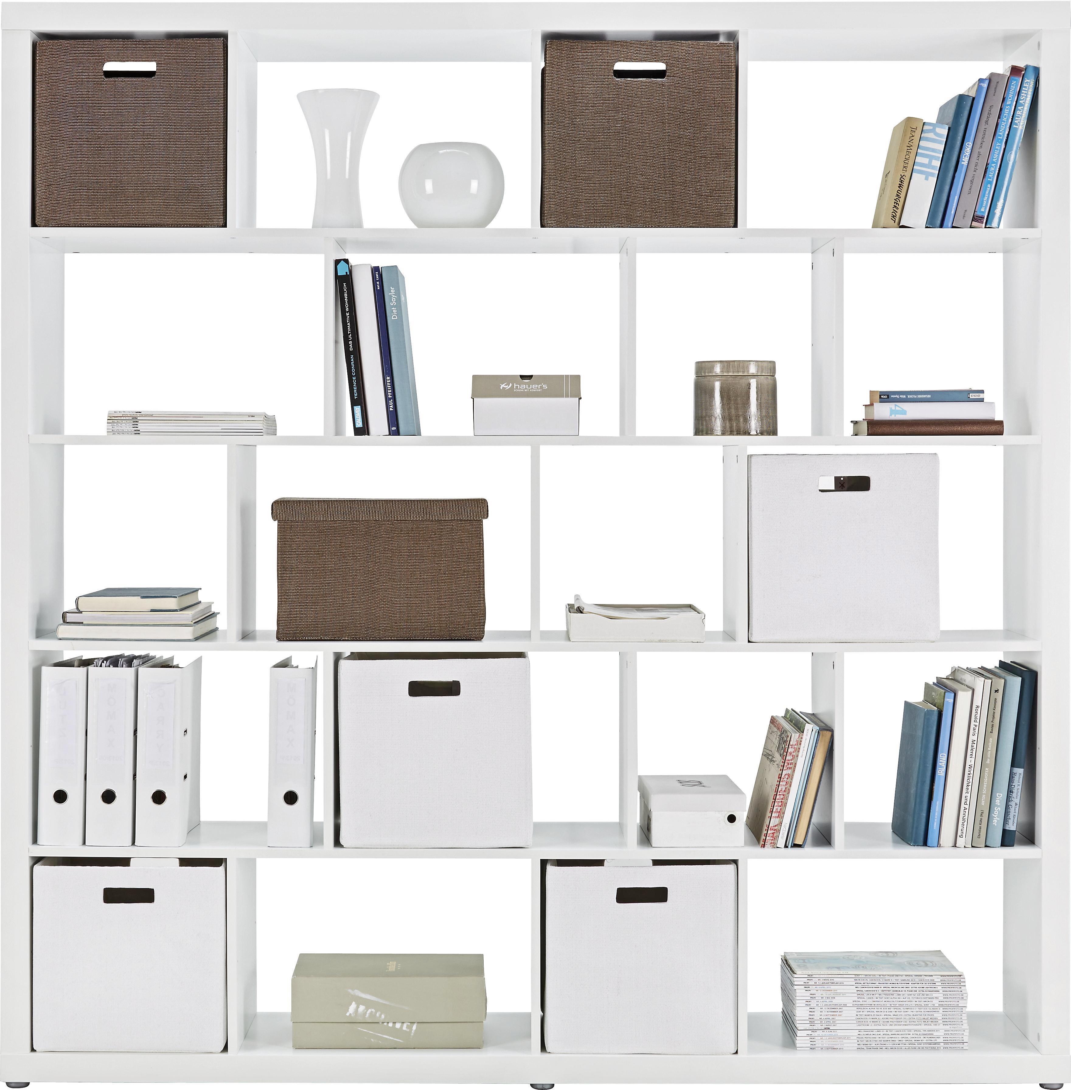 Raumteiler in Weiß - Weiß, Holzwerkstoff (188,8/191,4/34cm) - MÖMAX modern living