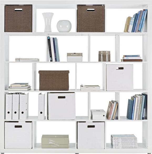 Raumteiler Weiß - Weiß, Holzwerkstoff (188,8/191,4/34cm) - Mömax modern living