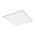 LED-Leuchtenpaneel max. 31 Watt 'Salobrena-CL' - Weiß, MODERN, Kunststoff/Metall (65/65/8,5cm) - Bessagi Home