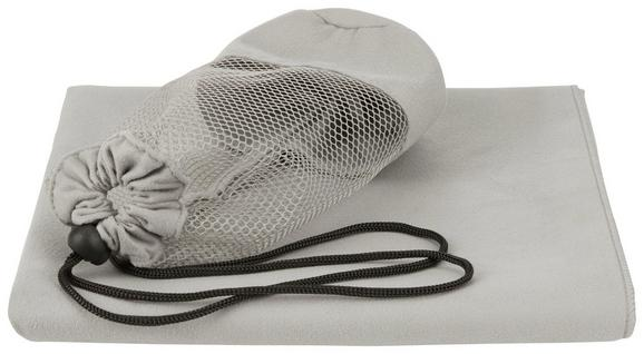 Sporthandtuch Dominik Grau 70x140cm - Grau, Textil (70/140cm) - MÖMAX modern living