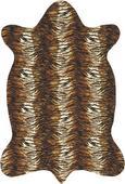 Teppich Animal, ca. 120x180cm - Braun/Weiß, LIFESTYLE, Textil (120/180cm) - MÖMAX modern living