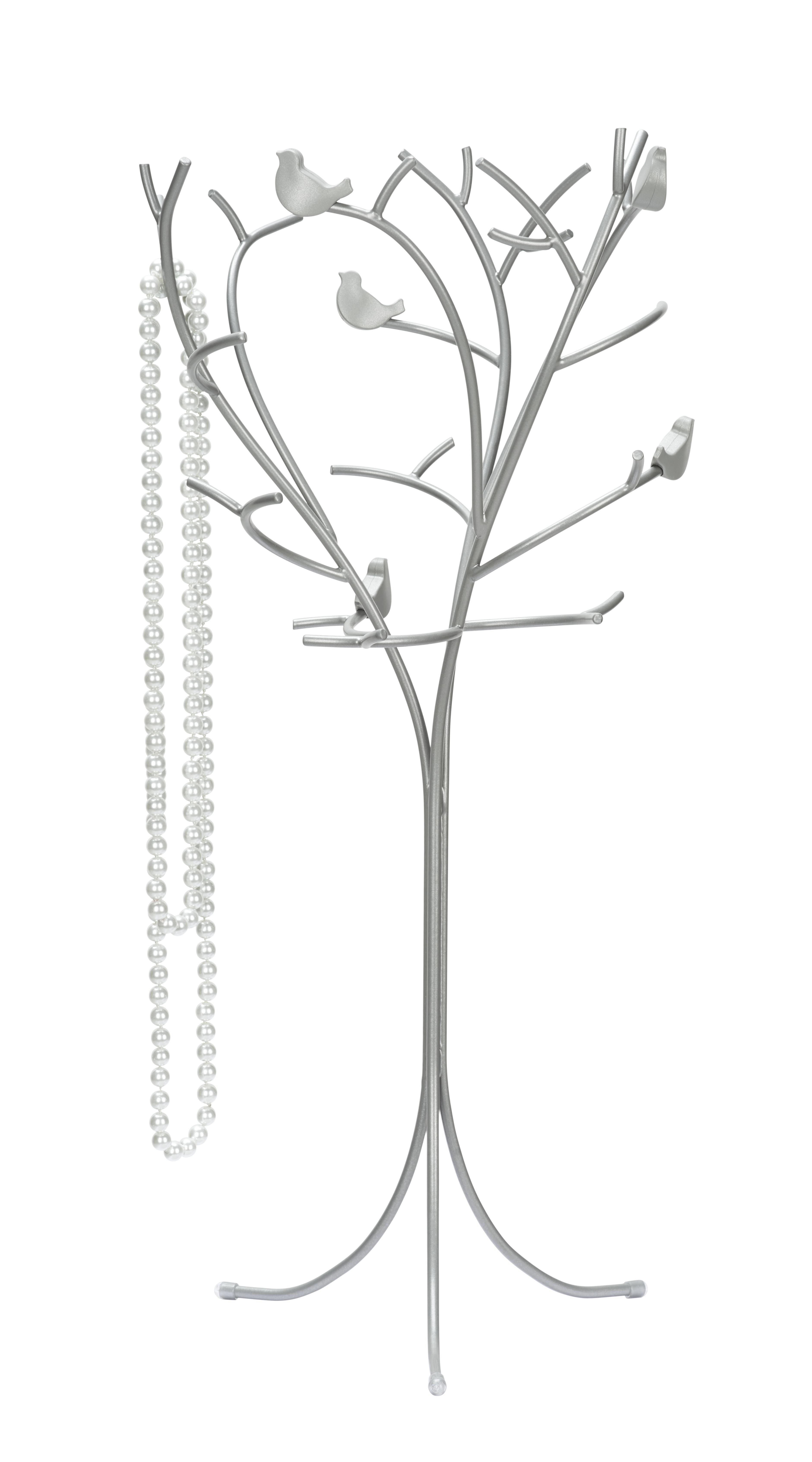 Ékszertartó Laura - nikkel színű, romantikus/Landhaus, fém (17,78/30,48/13,97cm) - MÖMAX modern living