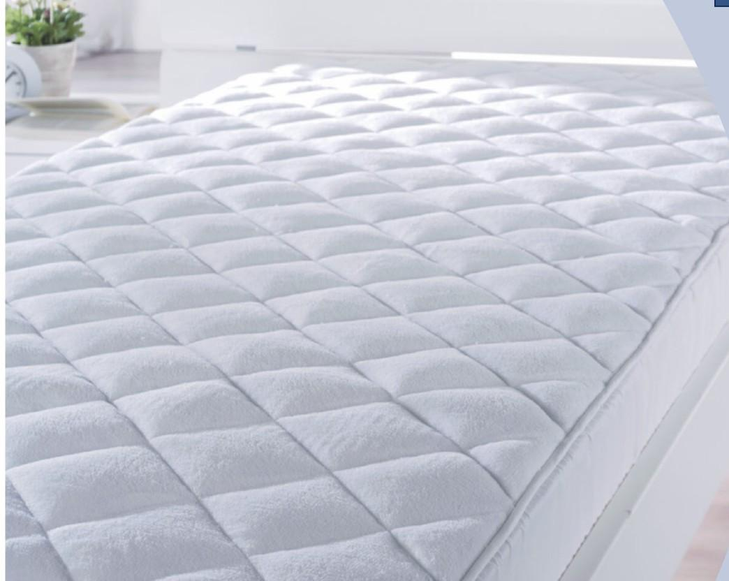 Matracvédő Ella - fehér, textil (140/200cm) - premium living