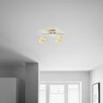 LED-Strahler Nanni, max. 4 Watt - Chromfarben, ROMANTIK / LANDHAUS, Kunststoff/Metall (34/18cm) - Premium Living