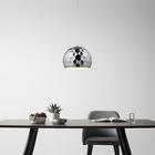 Pendelleuchte Tiago - Chromfarben, MODERN, Metall (30/120cm) - Mömax modern living