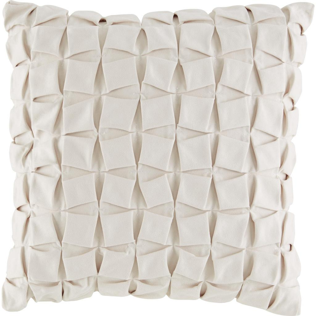 Zierkissen Cube in Weiß, ca. 45x45cm