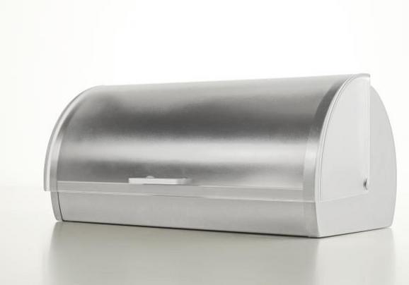 Brotkasten Grau - (18,5/28/39,2cm) - Mömax modern living