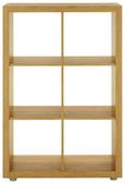 Predelna Stena Aron - aluminij/hrast, umetna masa/leseni material (117/84/35cm)