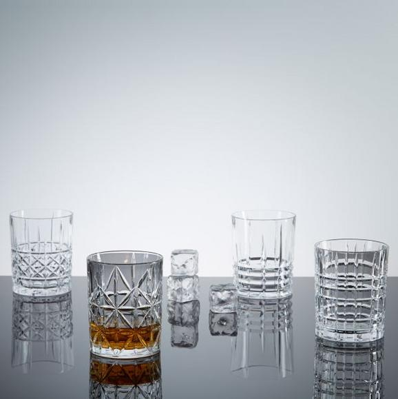 Whiskygläser Nachtmann Highland 4-er Set - Klar, KONVENTIONELL, Glas (8,2cm) - Nachtmann