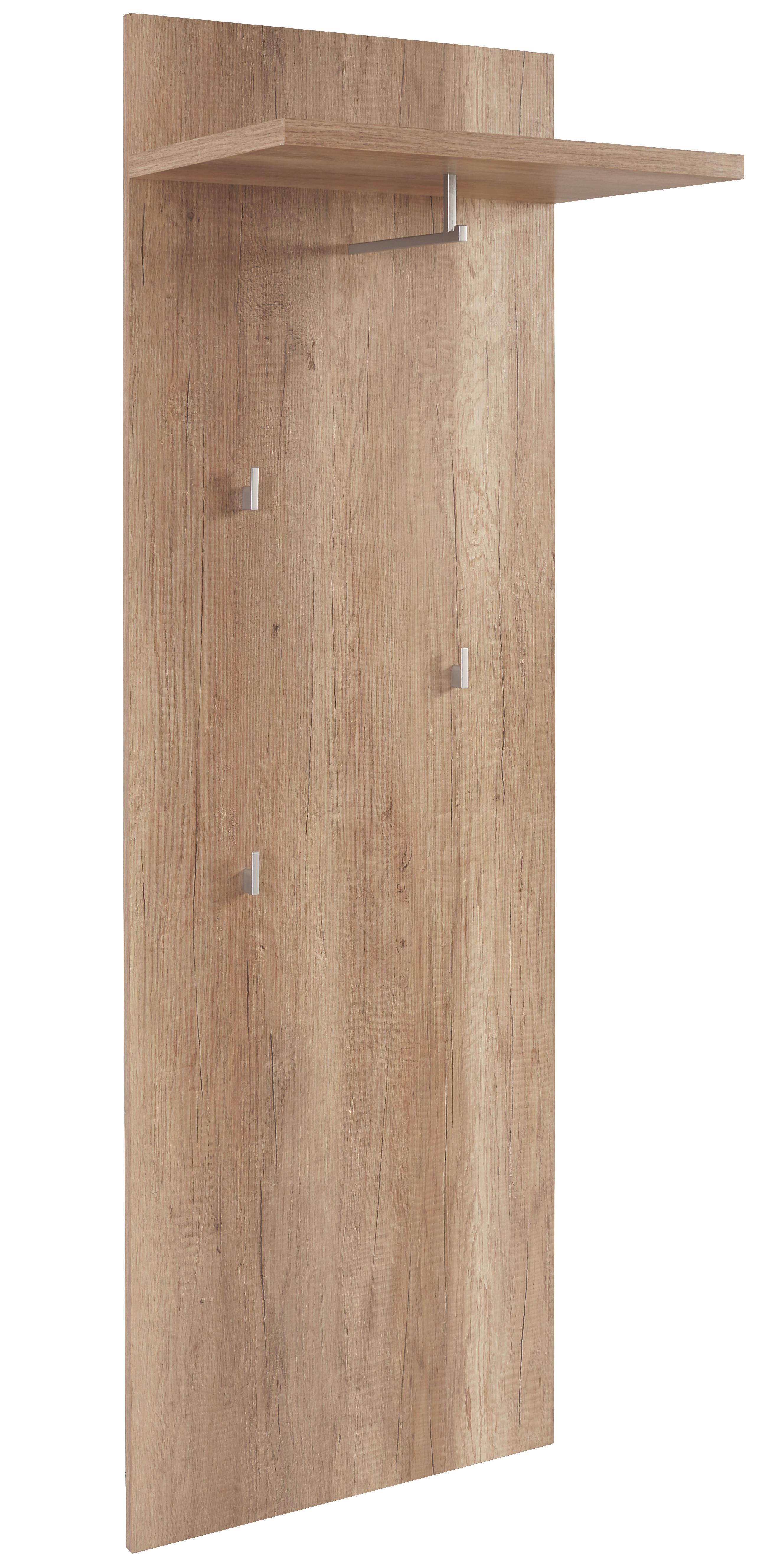 Előszoba Panel Space - tölgy színű, modern (55/160/35cm)