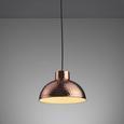 Pendelleuchte Lukas - Bronzefarben, MODERN, Metall (25,5/25,5/120cm) - Mömax modern living