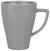 Kaffeebecher Nele Grau - Grau, MODERN, Keramik (8,5/11cm) - Premium Living