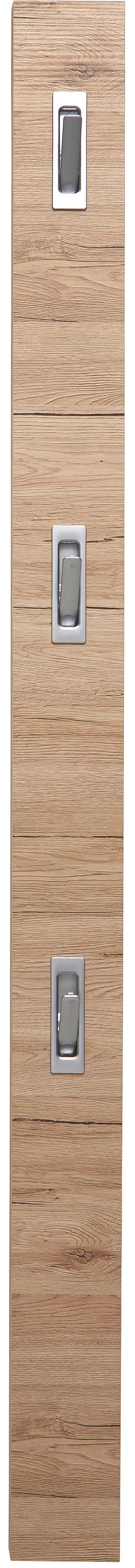 Előszoba Panel Enzo - éger színű/világosbarna, modern, faanyagok (12/175/2,8cm)