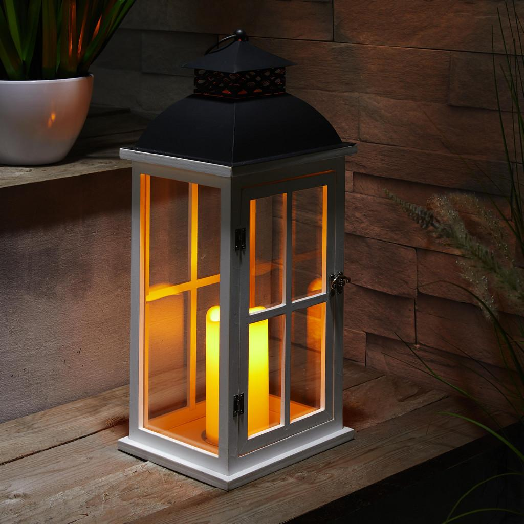 Laterne inkl. LED-Kerze Hca.51cm 'Bastian'