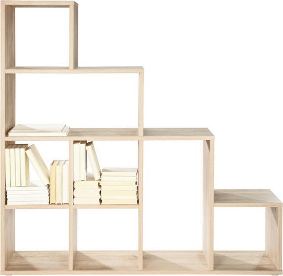 Raumteiler in Eiche - Sonoma Eiche, Holzwerkstoff (149/153/33cm) - MÖMAX modern living