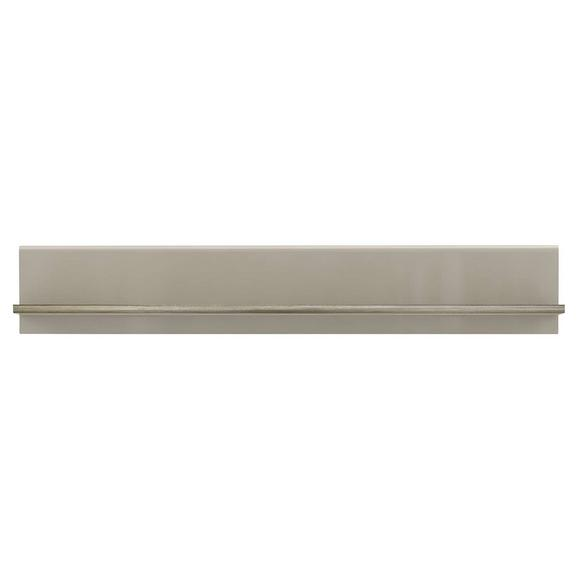 Raft De Perete Tiziano - bej/culoare lemn stejar, Modern, plastic/compozit lemnos (143,8/23,5/25cm)