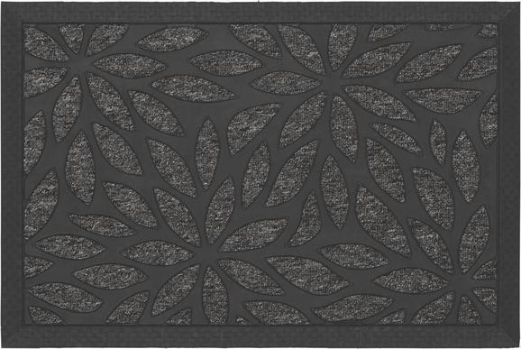 Fußmatte Max Grau, ca. 40x60cm - Grau, MODERN, Kunststoff (40/60cm) - Mömax modern living