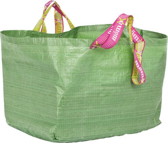 Bevásárlótáska Xl Méret - Zöld, Műanyag (96/40/58cm) - Mömax modern living