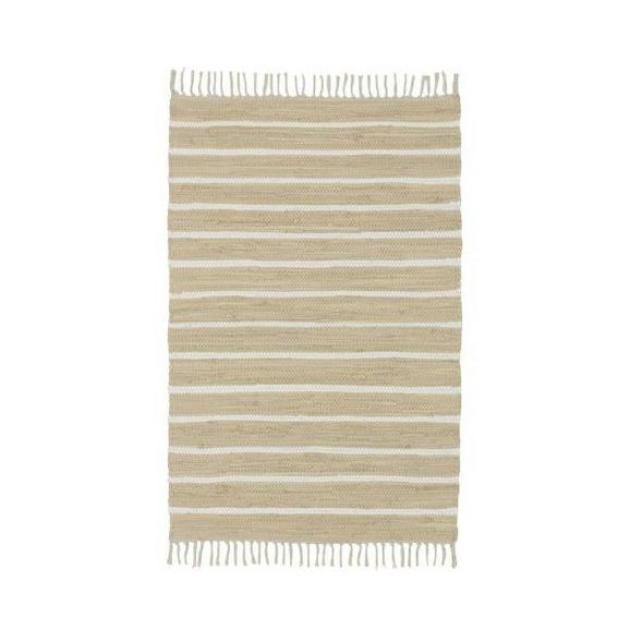 Handwebeteppich Toni in Beige ca. 60x120cm - Beige, MODERN, Textil (60/120cm) - Mömax modern living