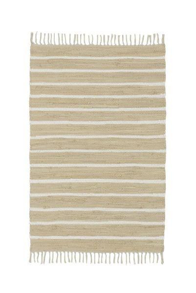Handwebteppich Toni - Beige, MODERN, Textil (80/150cm) - Mömax modern living