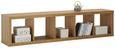 Predelna Stena Aron - aluminij/hrast, umetna masa/leseni material (44/191/35cm)
