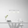 Lustră Jakob - Konventionell, sticlă/metal (64,5/90cm) - Modern Living