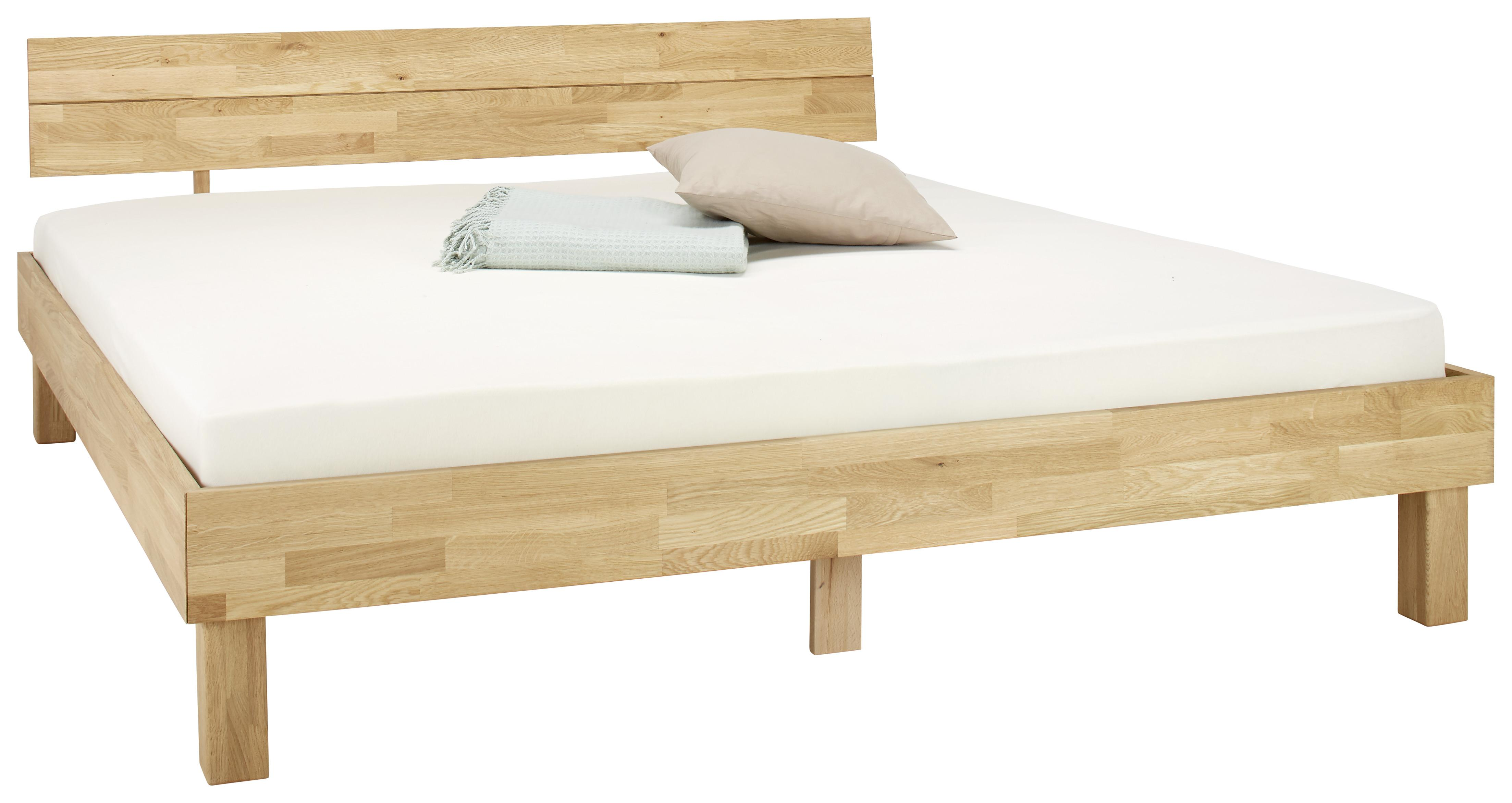 Image of Bett aus Eiche massiv ca. 180x200cm