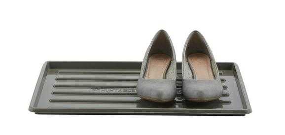 Cipőtároló Roger - fekete/szürke, műanyag (30/45cm) - MÖMAX modern living