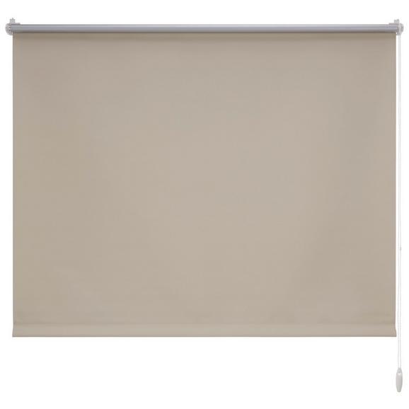 Klemmrollo Thermo ca. 120x150cm - Sandfarben, Textil (120/150cm) - Premium Living