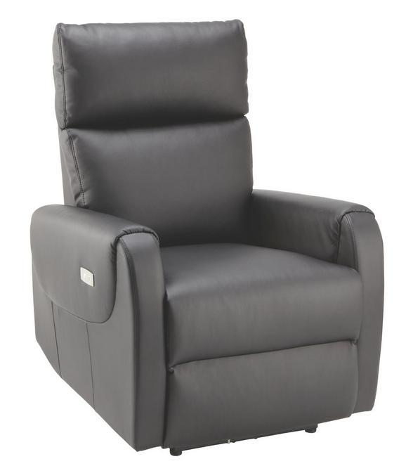 Tv-fotelj Ancona - črna, Moderno, kovina/tekstil (76,5/100-83/85-154,5cm) - MÖMAX modern living