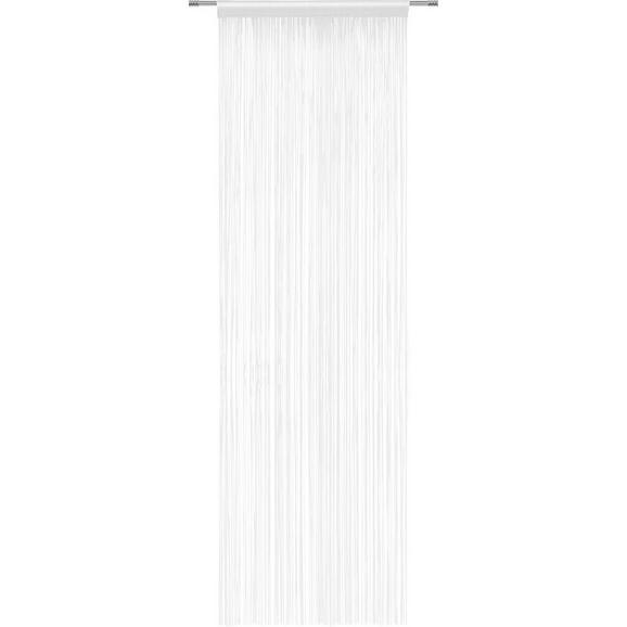 Fadenstore Victoria Weiß - Weiß, Textil (90/245cm) - Mömax modern living