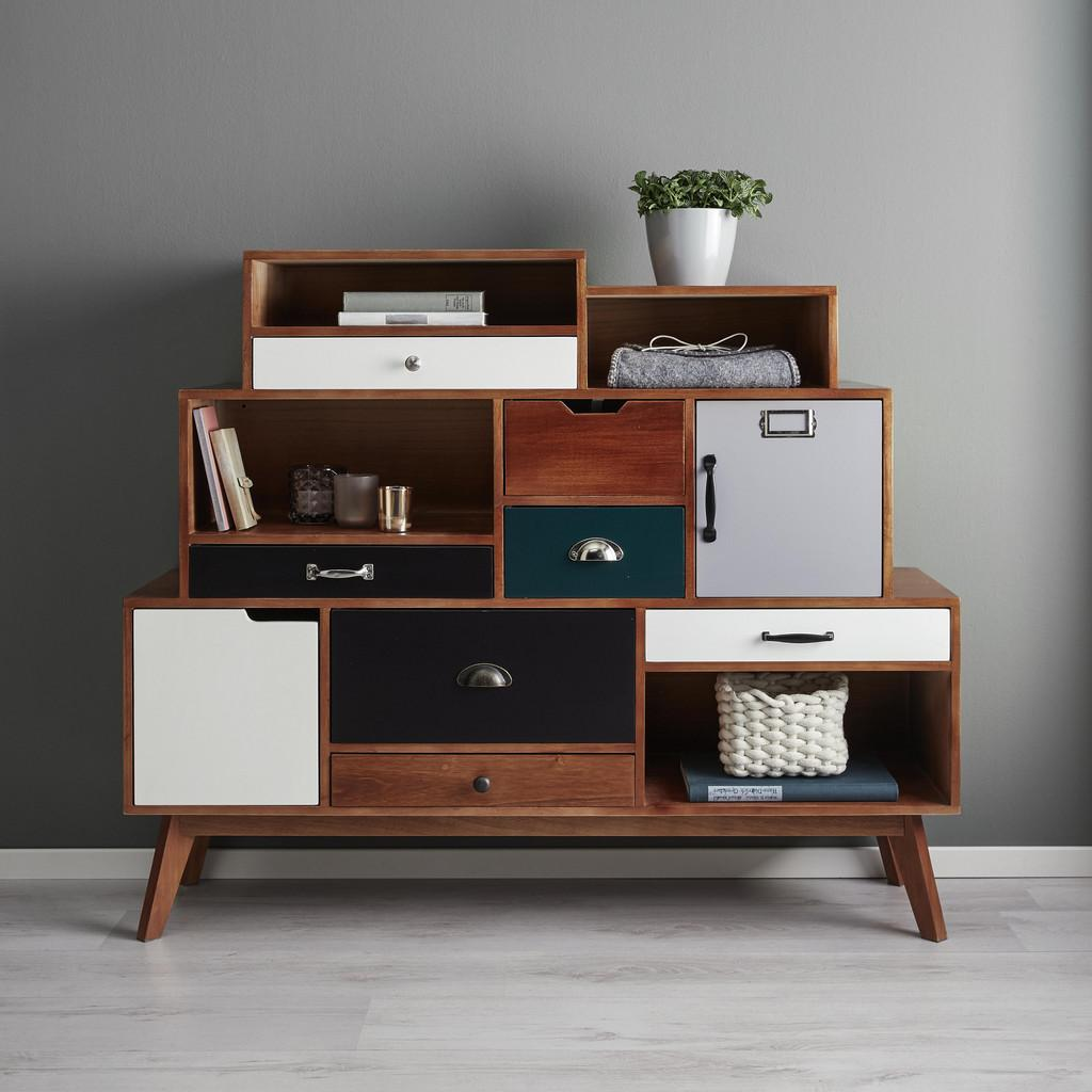 SIDEBOARD in Mulitcolor 'Heather'