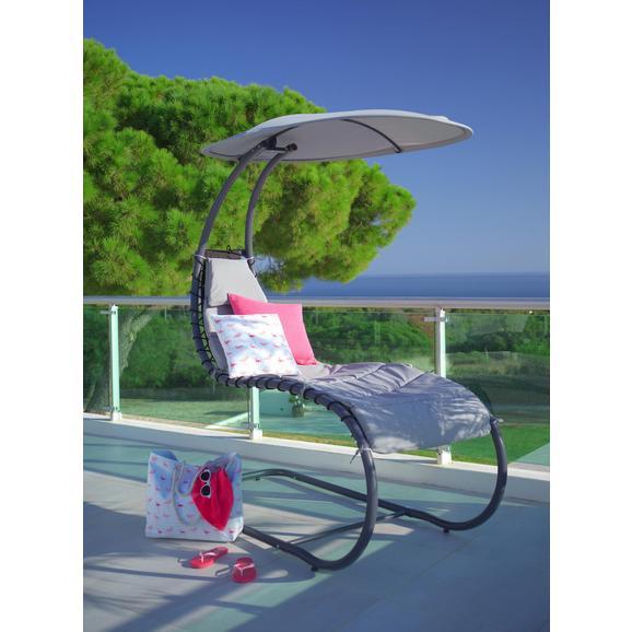 Garten Relaxsessel Palma In Anthrazit Mit Auflage Online Kaufen Mömax