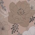 Bettwäsche Mariella in Grau ca. 135x200cm - Beige/Grau, KONVENTIONELL, Textil (135/200cm) - Mömax modern living