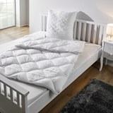 Vierjahreszeiten Betten Set Irisette 135x200/80x80 cm - Weiß, KONVENTIONELL, Textil - IRISETTE