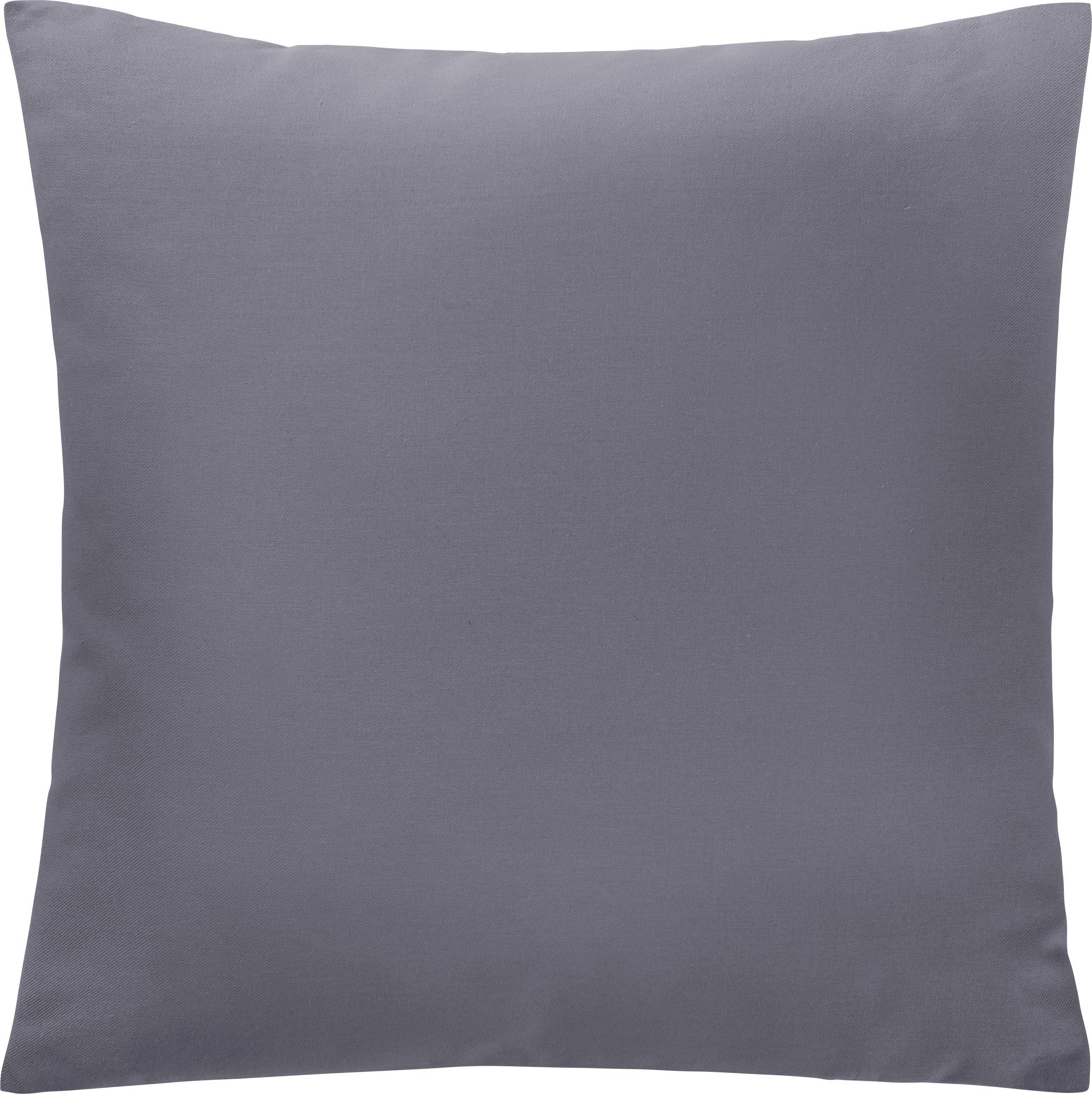 Zierkissen Diane 40x40cm - Grau, KONVENTIONELL, Textil (40/40cm) - MÖMAX modern living
