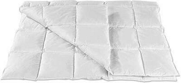 Federsteppbett Fabi, ca. 140x200cm - Weiß, Textil (140/200cm) - Based