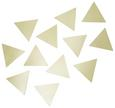 Wanddeko Melina Goldfarben - Goldfarben, Metall (7,62/7,62/1,6cm) - Mömax modern living