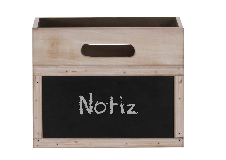 Aufbewahrungsboxen-Set Medley in Braun aus Tanne - Hellbraun, Holz (40/30/24cm) - MÖMAX modern living