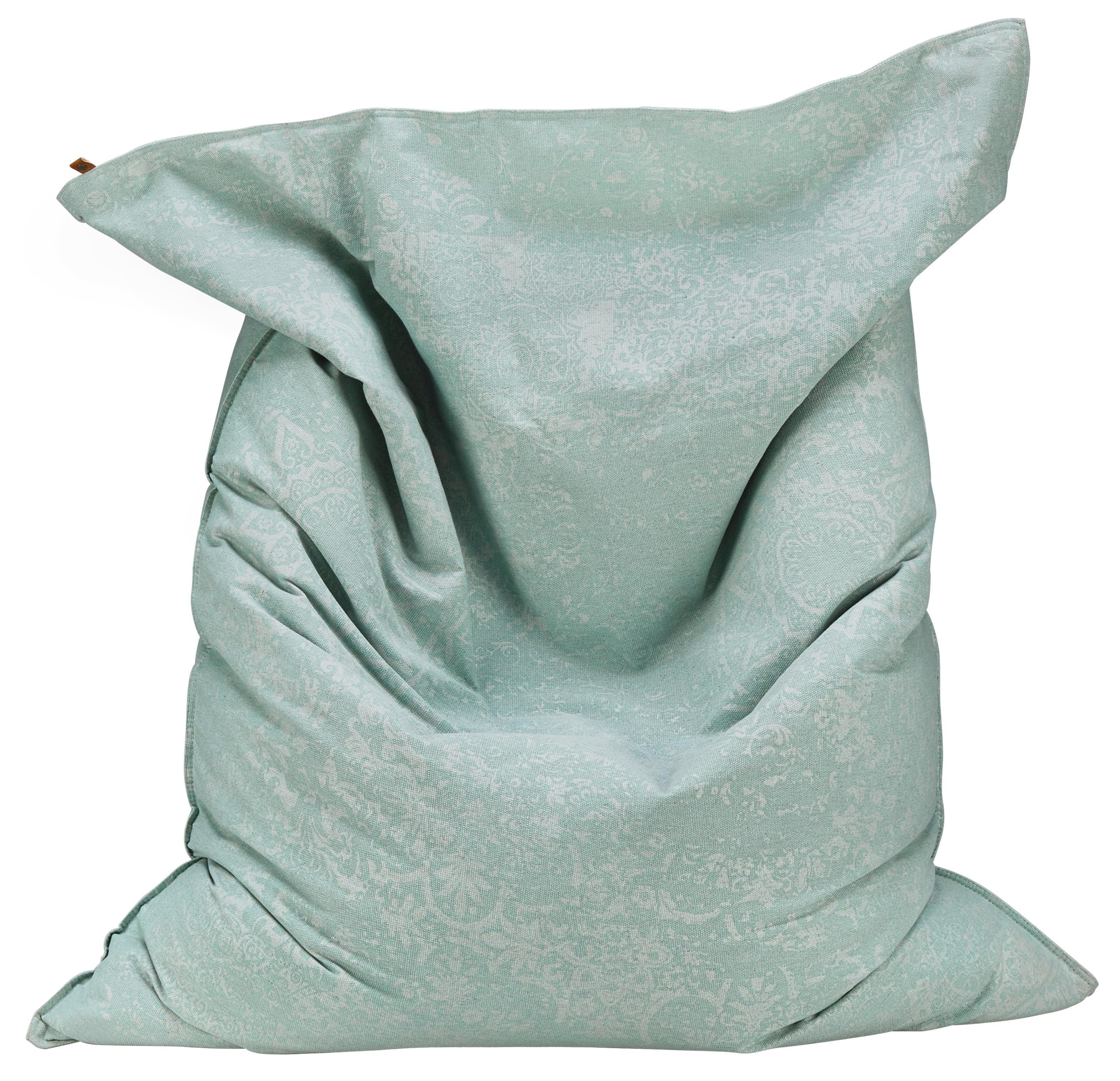 Sitzsack Sadri - Mintgrün, MODERN, Textil (110/140cm)