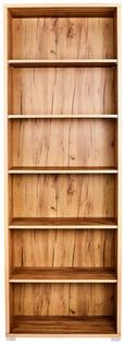 Pisarniški regal PROFI - hrast, Moderno, leseni material (75/220/35cm) - MÖMAX modern living
