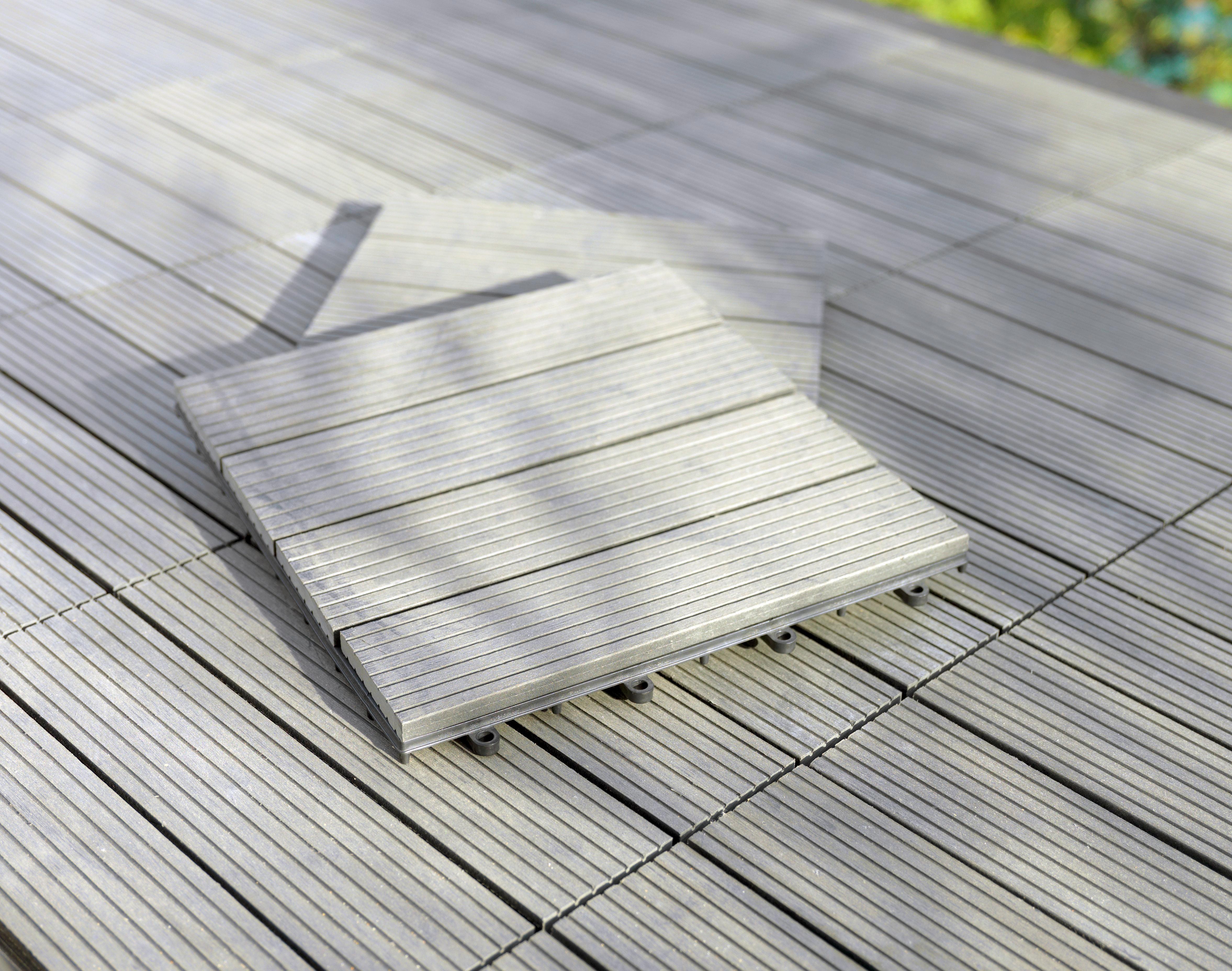 Terrassenplatten Kunststoff Holzoptik | fkh