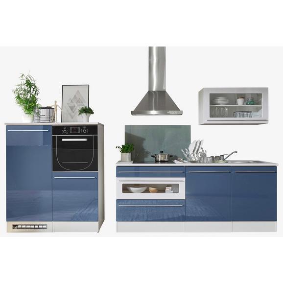 Kuhinjski Blok Welcome Jazz 2 - modra/bela, Moderno, leseni material (200+120cm) - Mömax modern living