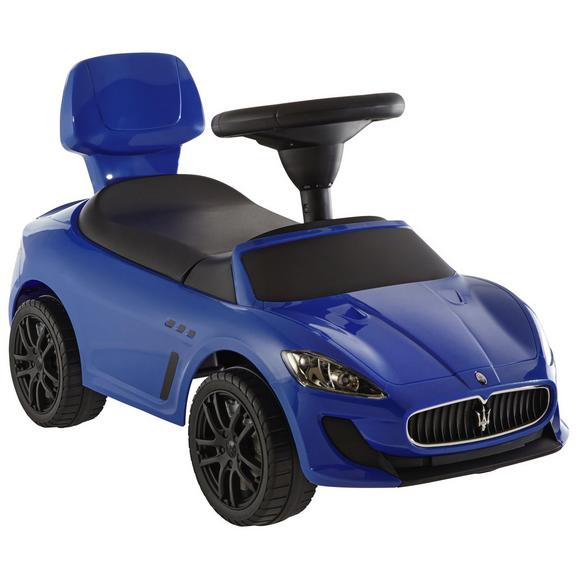 Lábbal Hajtható Kisautó Maserati Gran-cabrio - Kék, Műanyag/Fém (68,3/30,6/39,5cm)