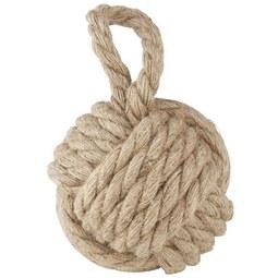 Ajtóütköző Rope - Bézs, Textil (14cm) - Mömax modern living